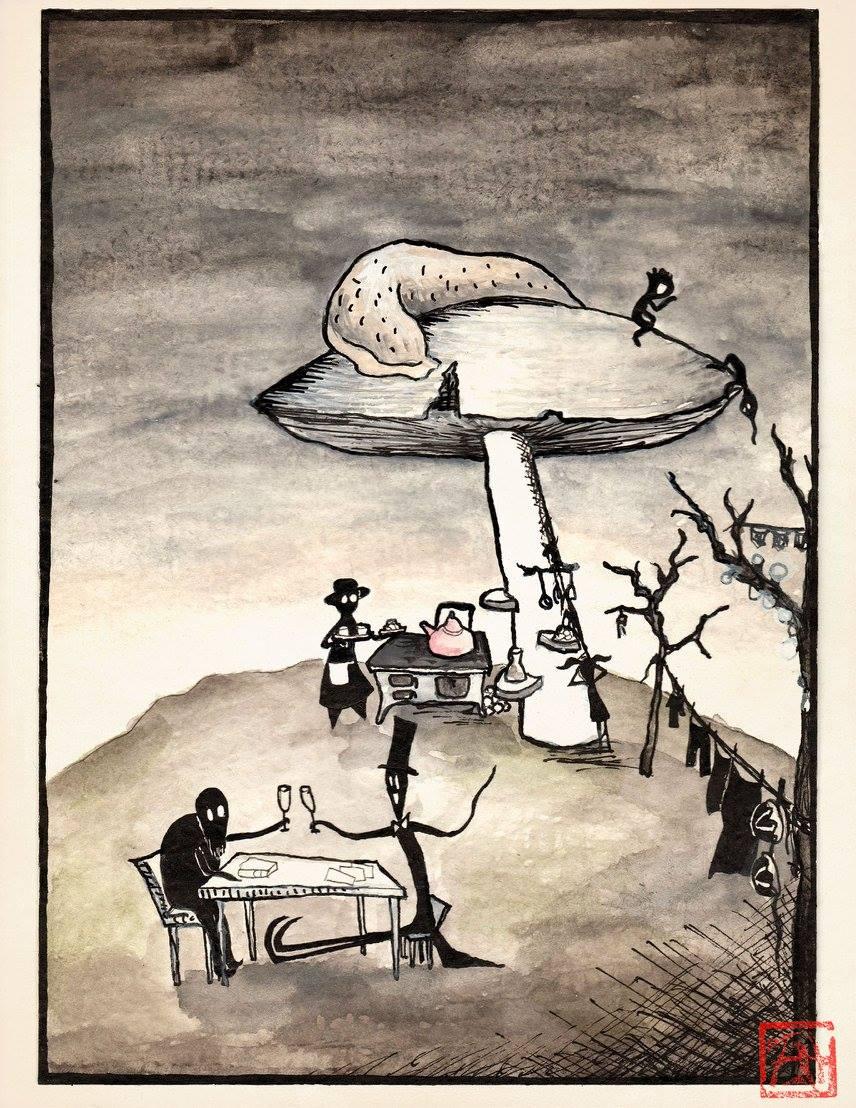 Kavárna pod houbou